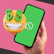 Celular con Whatsapp Business